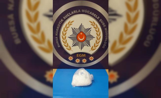 Bursa'da uyuşturucu operasyonunda 3 şüpheli tutuklandı