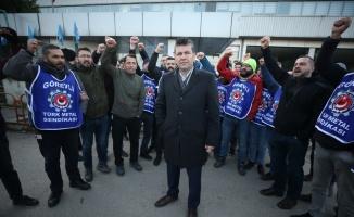 Bursa'daki iş bırakma eylemi sonlandırıldı