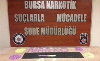 Bursa'daki uyuşturucu operasyonunda iki şüpheli tutuklandı