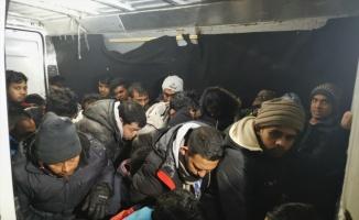 Edirne'de 28 düzensiz göçmen yakalandı