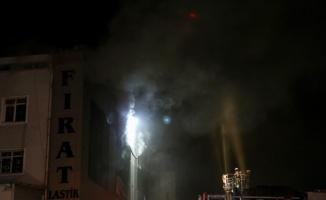 Esenyurt'ta bir fabrikada yangın çıktı