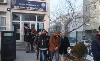 Edirne'de fuhuş operasyonunda gözaltına alınan 7 şüpheli tutuklandı
