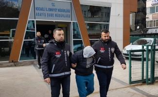 Kocaeli'de evlerden hırsızlık yaptığı iddiasıyla yakalanan 2 şüpheli tutuklandı