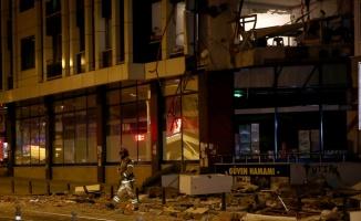 Güngören'de doğal gazdan kaynaklandığı belirtilen patlamada 1 kişi yaralandı