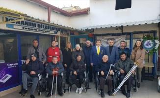 Hayırseverden TSD'ye tekerlekli sandalye bağışı