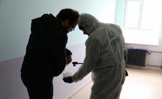 Kapaklı'da okullar dezenfekte edildi