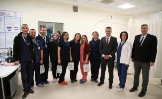 Kırklareli Belediye Başkan Yardımcısı Kolcular'dan yeni yıl ziyaretleri