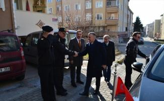 Kırklareli Valisi Bilgin, silahlı kavgada yaralanan polis memurunu ziyaret etti