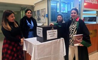 Kocaeli Adliyesi ve Barosundan depremzedelere yardım kampanyası