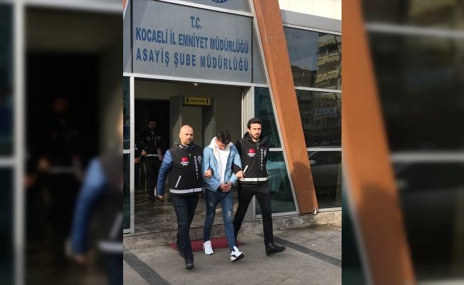 Kocaeli'de marketten 10 bin lira çaldığı iddia edilen iki şüpheli tutuklandı