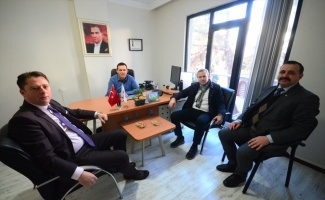 KTSO Başkanı Ilık'tan AA'ya ziyaret