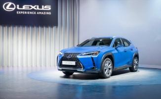 Lexus elektrikli araçlarını sergiledi