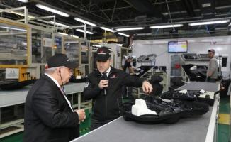 Sakarya Valisi Nayir fabrika ziyaretlerini sürdürüyor
