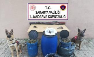 Sakarya'da 11 kilogram esrar ele geçirildi