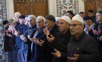 Selimiye Camisi'nde yağmur duası