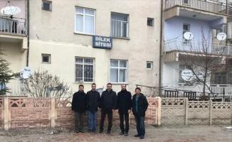 SUBÜ heyeti deprem bölgesinde incelemelere başladı