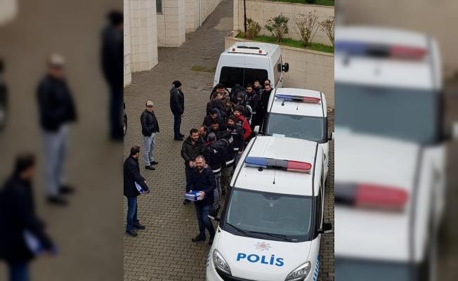 Suç örgütüne yönelik operasyonda serbest bırakılan şüphelilerden 5'i itiraz üzerine tutuklandı