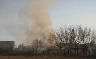 Tekirdağ'da ekmek fabrikasında çıkan yangın söndürüldü