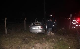 Tekirdağ'da otomobillerin çarpışması sonucu 3 kişi yaralandı