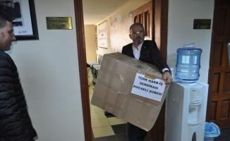 Türk Harb-İş Sendikası Kocaeli Şubesi'nden depremzedelere yardım