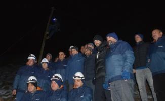 Türk Telekom çalışanları yeni yıla birlikte girdi