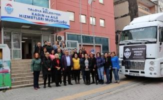 Yalova'dan Elazığ'daki depremzedelere yardım