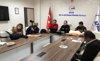 AFAD'dan basın mensuplarına ilk yardım eğitimi