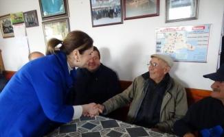 AK Parti Edirne Milletvekili Aksal ve İl Başkanı İba'dan köylere ziyaret