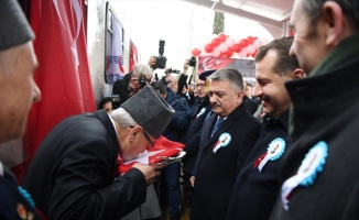 Atatürk'ün Balıkesir'e gelişinin 97. yıl dönümü kutlandı