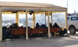 Balıkesir'de 43 düzensiz göçmen yakalandı