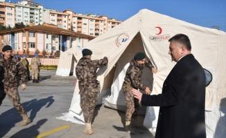 Balıkesir'de depremzedeler için toplanan yardımlar Elazığ'a gönderildi