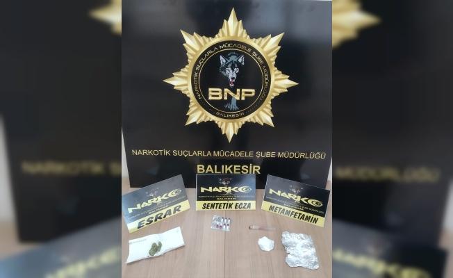 Balıkesir'de uyuşturucu operasyonlarında 9 şüpheli yakalandı