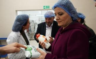 Başkan Hürriyet süt üreticileriyle buluştu