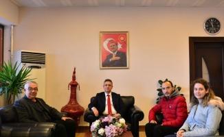 BAÜN Rektörü Prof. Dr. İlter Kuş, İdlib gazisiyle bir araya geldi
