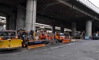 Beyoğlu Belediyesi kar yağışına karşı tedbir aldı
