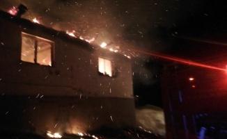 Bursa'da ev yangını