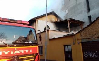 Bursa'da evde çıkan yangın söndürüldü