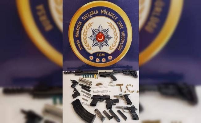 Bursa'da uyuşturucu operasyonunda 8 tutuklama