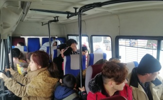 Çanakkale'de Afganistan uyruklu 80 düzensiz göçmen yakalandı