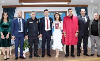 Çerkezköy'de 18 çift evlenmek için