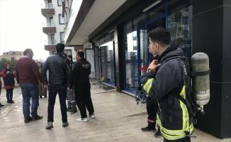 Çerkezköy'de markette çıkan yangın söndürüldü