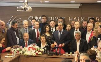 CHP İl Başkanlığına seçilen İsmet Karaca görevi devraldı