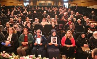 Çocukları dağa kaçırılan iki anne ile şehit eşi Bursa'da  buluştu