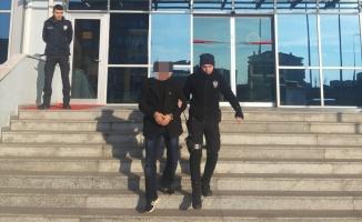 Dini nikahla yaşadığı kadını darp eden zanlı tutuklandı