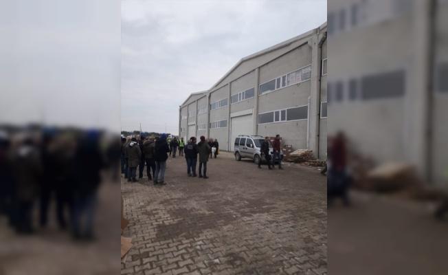 Ergene'den gönderilen yardım kamyonu Elazığ'a ulaştı