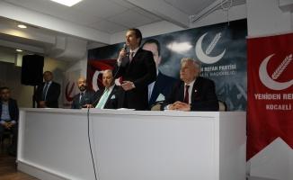 Fatih Erbakan Kocaeli'ne geldi