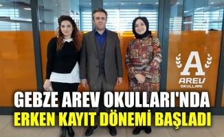 Gebze Arev Okulları'nda erken kayıt dönemi başladı