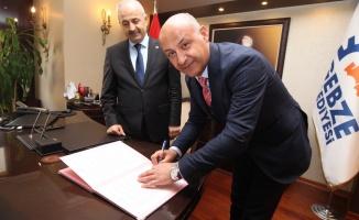 Gebze ve Malazgirt kardeşlik protokolü imzaladı
