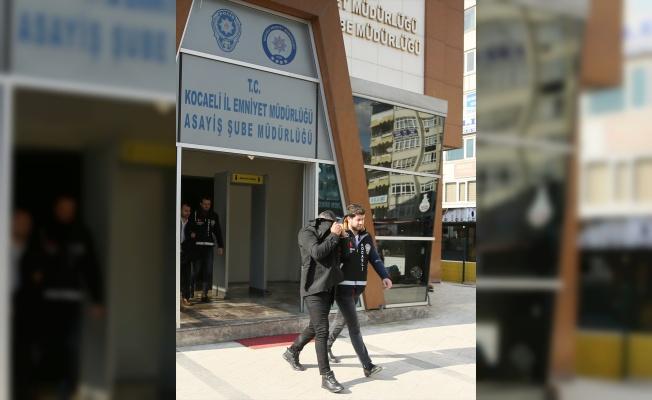 Kocaeli'de triko ipliği yüklü tır hırsızlığı şüphelileri tutuklandı