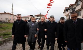 İçişleri Bakan Yardımcısı İnce'den şehit Karagöz'ün ailesine ziyaret